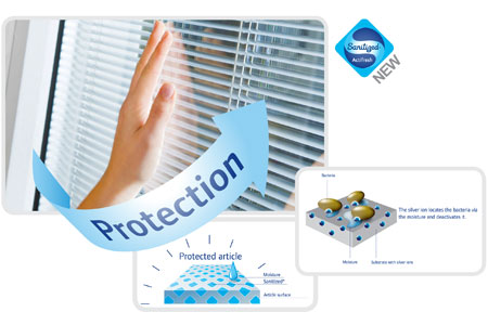 Unicel's ViuLite Blinds-between-glass Product Offers Control Devices Treated with Sanitized® Antimicrobial Technology