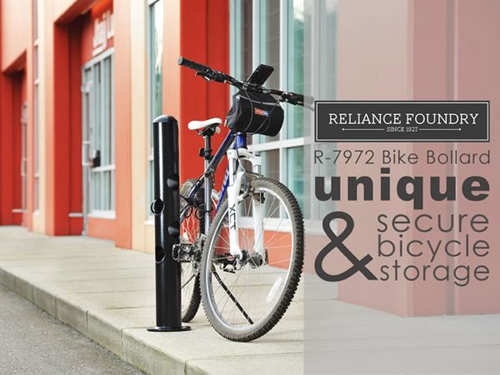Unique and secure bicycle storage