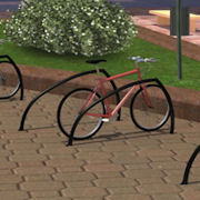 Unique Shark-Fin Style Bike Racks From Reliance Foundry