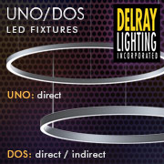 UNO/DOS Circular & Linear LED Fixtures