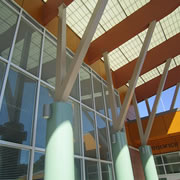 Use of louvers-between-glass can contribute up to 31 LEED certification credits