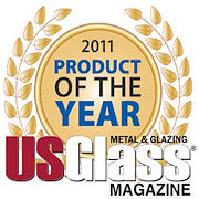 "USGlass Magazine readers pick Vision Control®  louvers within Pilkington Pyrostop® glass from  Unicel and TGP as 2011 ""Product of the Year"""