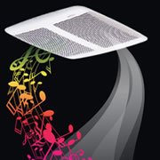 Ventilation for you the music fan: Brilliant audio performance concealed behind your fan grille