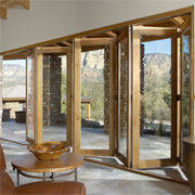 Vista Pointe Aluminum Clad Bi-Fold Multi-Slide Patio Doors
