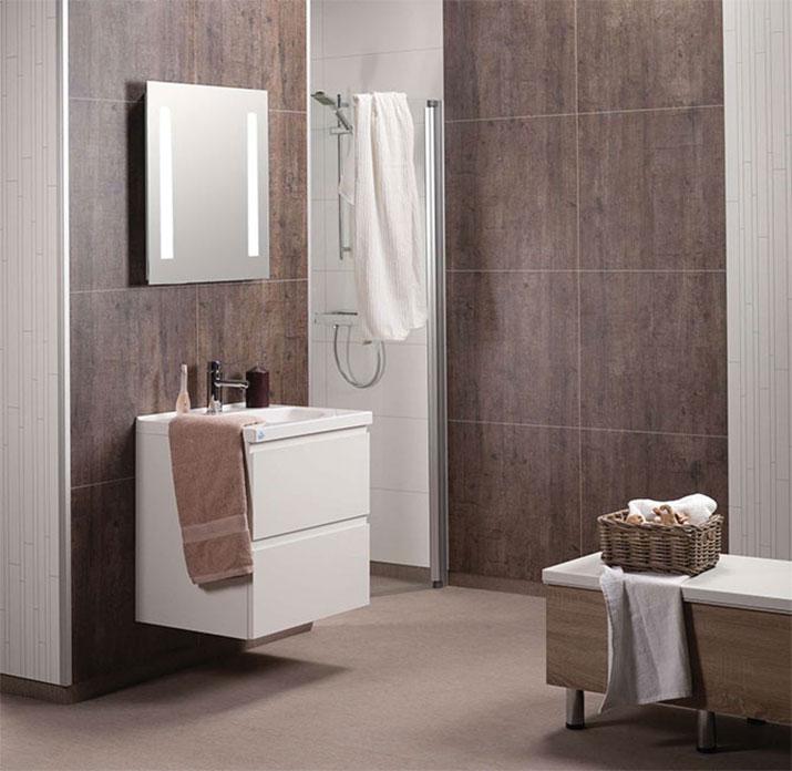 Waterproof Laminated Diy Shower Bathroom Wall Panels Kits
