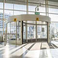 What's new in revolving doors: can you really teach an old door new tricks?