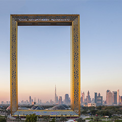 When it came to choosing entrances for the Dubai Frame in UAE, designers selected revolving doors for security, safety and accessibility