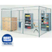 Wire Mesh Security Partitions & Components From Global Industrial