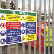 Workplace Sign Review, an On-Site Safety Service, for Customers