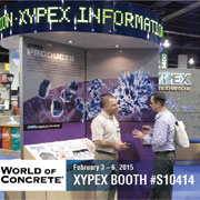 Xypex at World of Concrete on February 2015