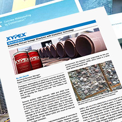Xypex White Paper - Protecting Precast Sewage Structures with Crystalline Technology