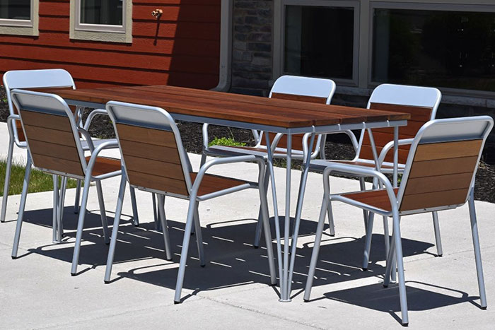 Yahara Picnic Table from Thomas Steele
